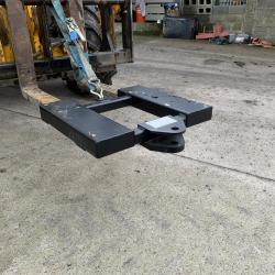 Taylor attachments Pallet fork drawbar