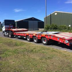 Another lorry hitting the road this week