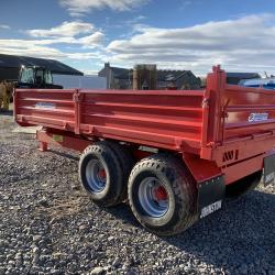 Johnston Tipping Trailer